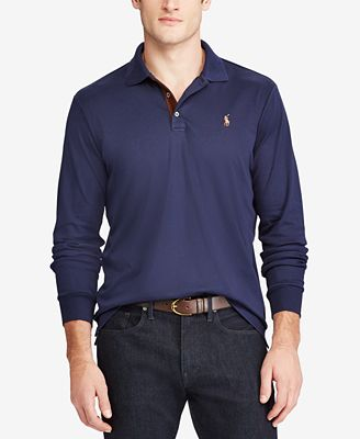 Polo Ralph Lauren Men's Classic-Fit Long Sleeve Soft-Touch Polo