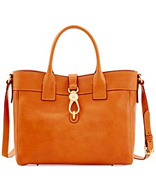 Florentine Amelie Leather Tote