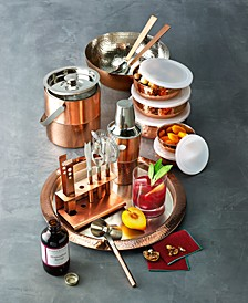 Copper Serveware and Barware Collection