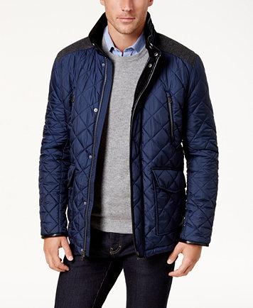 Cole Haan Men's Quilted Jacket - Coats & Jackets - Men - Macy's : men quilted coat - Adamdwight.com