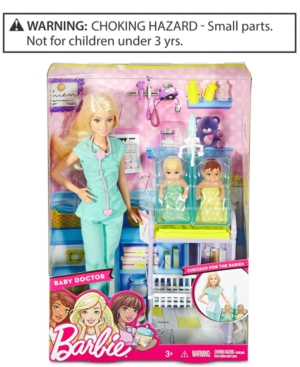 Barbie Baby Doctor Doll  Playset