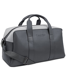 Receive a Complimentary Duffel Bag with any large spray purchase from the Calvin Klein Eternity Men's fragrance collection, Created for Macy's!