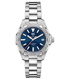 Women's Swiss Aquaracer Steel Bracelet Watch 32mm