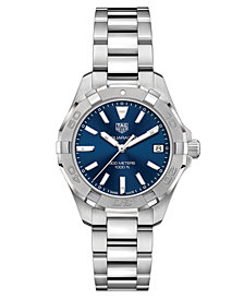 TAG Heuer Women's Swiss Aquaracer Steel Bracelet Watch 32mm