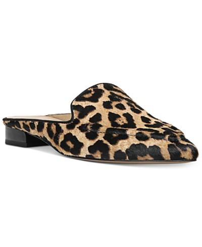 Franco Sarto Sela 2 Pointed-Toe Slip-On Loafer Mules