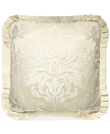 "J Queen New York Marquis 20"" Square Decorative Pillow"
