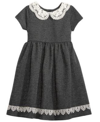 Black dress peter pan collar 5t
