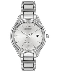 Citizen Eco-Drive Women's Stainless Steel Bracelet Watch 36mm