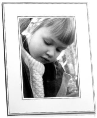 "Picture Frame, Silver Bead 5"" x 7"""