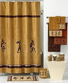 Kokopelli Shower Curtain & Hooks Collection