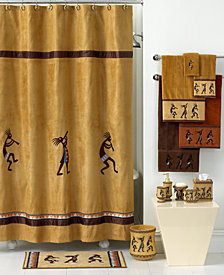 Avanti Bath Accessories, Kokopelli Shower Curtain