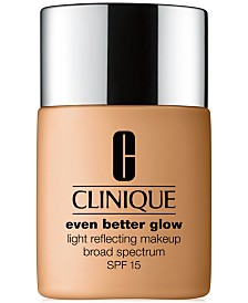 Clinique Even Better Glow Light Reflecting Makeup SPF 15, 1-oz.