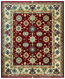 "CLOSEOUT! KM Home Signature Nomad Tribal Red/Beige 9' x 11' 6""  Area Rug, Created for Macy's"