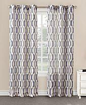 "Lichtenberg No. 918 Chelsea 40"" x 84"" Ogee Sheer Grommet Curtain Panel"