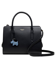 Liverpool Street Multiway Leather Satchel