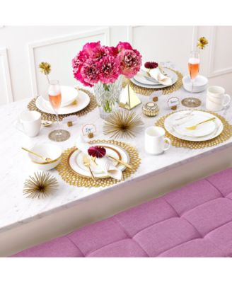 Venato Imperial Dinnerware Collection  sc 1 st  Macy\u0027s & Vera Wang Wedgwood Venato Imperial Dinnerware Collection ...