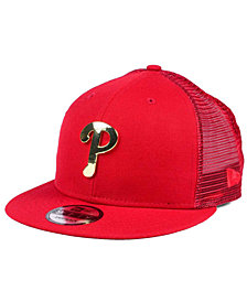 New Era Philadelphia Phillies Color Metal Mesh Back 9FIFTY Cap