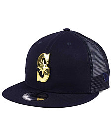 New Era Seattle Mariners Color Metal Mesh Back 9FIFTY Cap