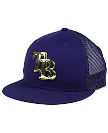 New Era Tampa Bay Rays Color Metal Mesh Back 9FIFTY Cap