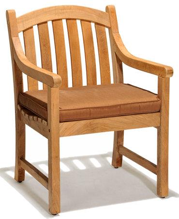 Bristol Teak Outdoor Dining Chair Furniture Macy 39 S