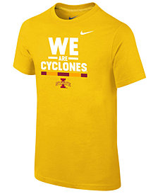 Nike Iowa State Cyclones Local Verbiage T-Shirt, Big Boys (8-20)