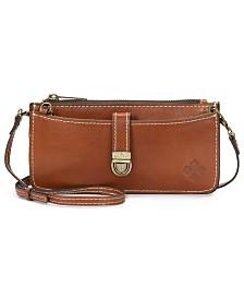 Patricia Nash Heritage Aso Organizer Leather Crossbody Wallet