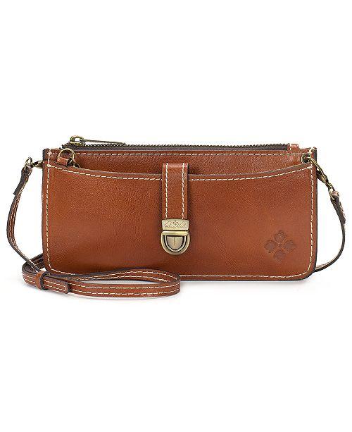 d22c4111cd14 Heritage Aso Organizer Leather Crossbody Wallet