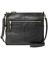 c2dc302deb82 Fossil Fiona Medium Leather Crossbody