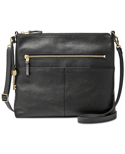 5297b22ad4e3 Fossil Fiona Medium Leather Crossbody  Fossil Fiona Medium Leather Crossbody  ...