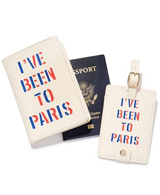 ban.do I've Been to Paris Travel Accessories Collection