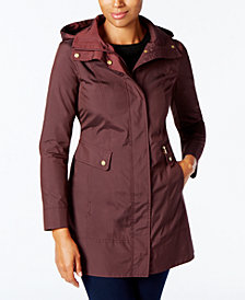 Cole Haan Petite Signature Packable Raincoat