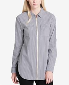 Calvin Klein Zip-Front Shirt