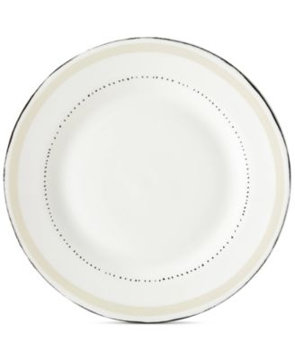 Union Square Taupe Dinner Plate