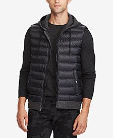 Polo Ralph Lauren Men's Down-Panel Double-Knit Vest