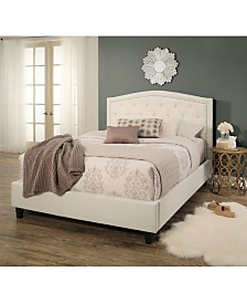 Brantley Tufted Upholstered Bed Collection, Quick Ship