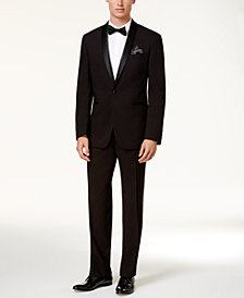 Kenneth Cole Reaction Men's Slim-Fit Black Shawl Tuxedo