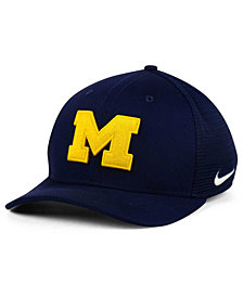 Nike Michigan Wolverines Aero Bill Mesh Swooshflex Cap