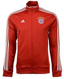 adidas Men's Bayern Munich Club Team 3 Stripes Track Jacket
