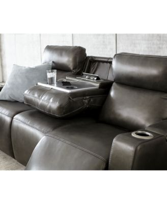 Oaklyn Leather Sofa Collection With Power Recliners, Power Headrests And  USB Power Outlet   Furniture   Macyu0027s