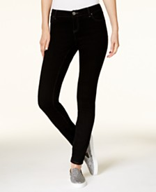 I.N.C. Petite Tummy Control Skinny Jeans, Created for Macy's