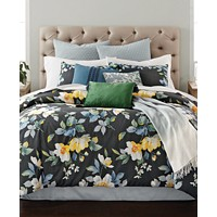 Martha Stewart Collection Contrast Blooms 14-Piece Comforter Set
