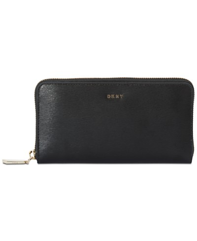 DKNY Bryant Large Zip-Around Wallet, Created for Macy's