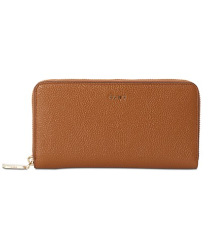 DKNY Chelsea Large Zip-Around Wallet, Created for Macy's