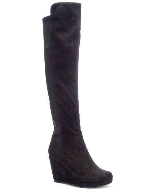 7307112760 Chinese Laundry Lavish Over-The-Knee Boots & Reviews - Boots ...