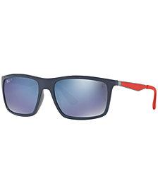 Ray-Ban Polarized Sunglasses, RB4228M SCUDERIA FERRARI COLLECTION