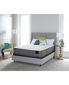 "Stearns & Foster Estate Garrick 14"" Luxury Cushion Firm Mattress Set- Queen Split"