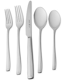 J.A. Henckels International Lani 65-Pc. 18/10 Stainless Steel Flatware Set