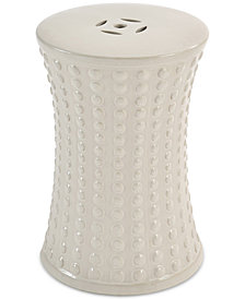 Rochelle Ceramic Garden Stool, Quick Ship