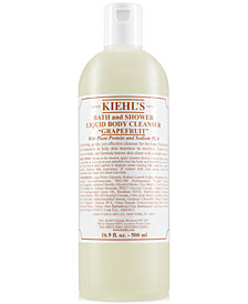Kiehl's Since 1851 Bath & Shower Liquid Body Cleanser - Grapefruit, 16.9-oz.