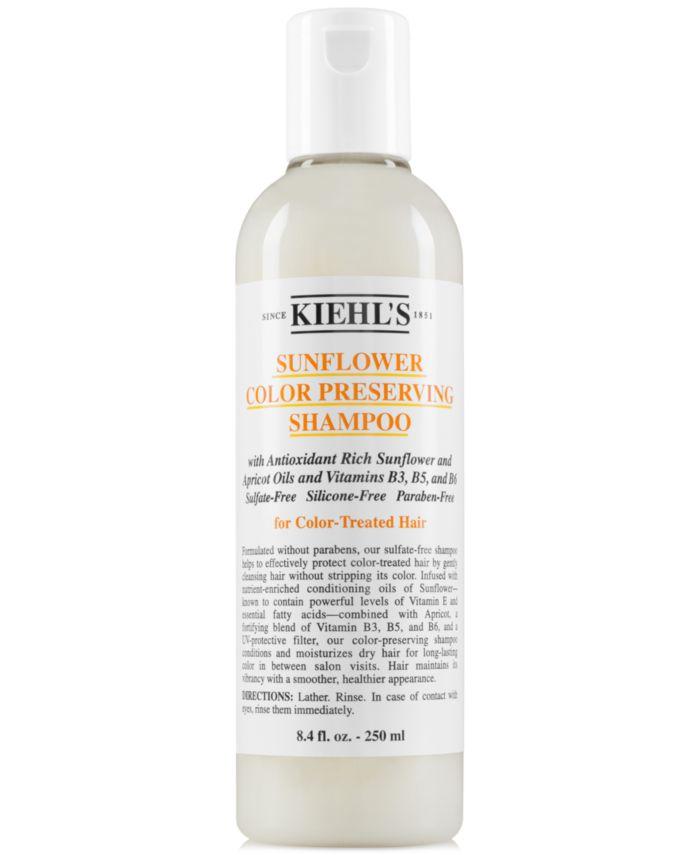 Kiehl's Since 1851 Sunflower Color Preserving Shampoo, 8.4-oz. & Reviews - Beauty - Macy's